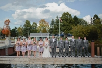 wedding party dock