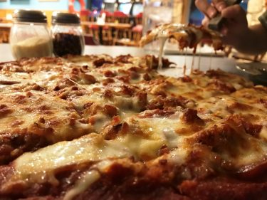 Door County Pizza at The Lodge at Leathem Smith