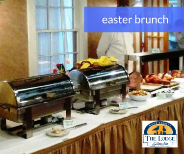 Easter Brunch Meat Station at The Lodge at Leathem Smith