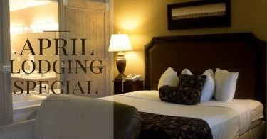 April Lodging Special in Sturgeon Bay Wisconsin at The Lodge at Leathem Smith
