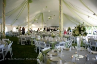 wedding tent - The Lodge at Leathem Smith